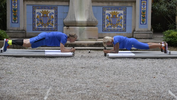 Vibeke utfordrer Jan Åge til planken