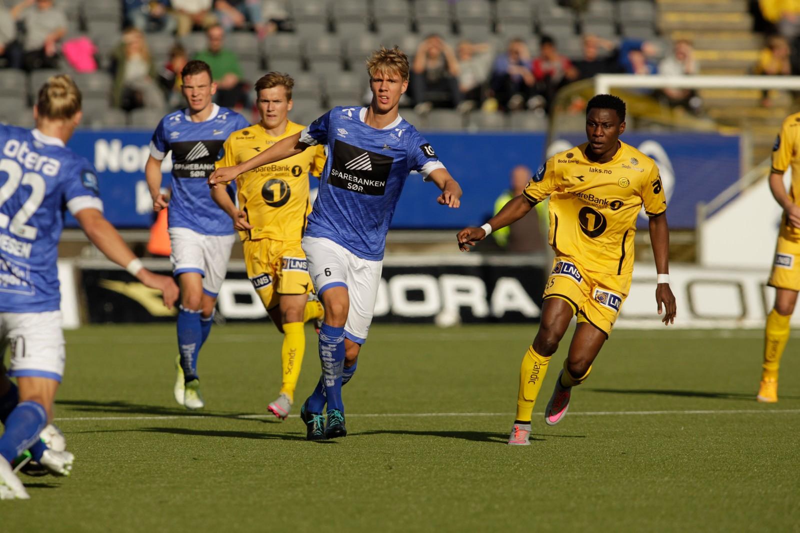 Bodø/Glimt-Start på Aspmyra stadion.  Foto: Mats Torbergsen / NTB scanpix