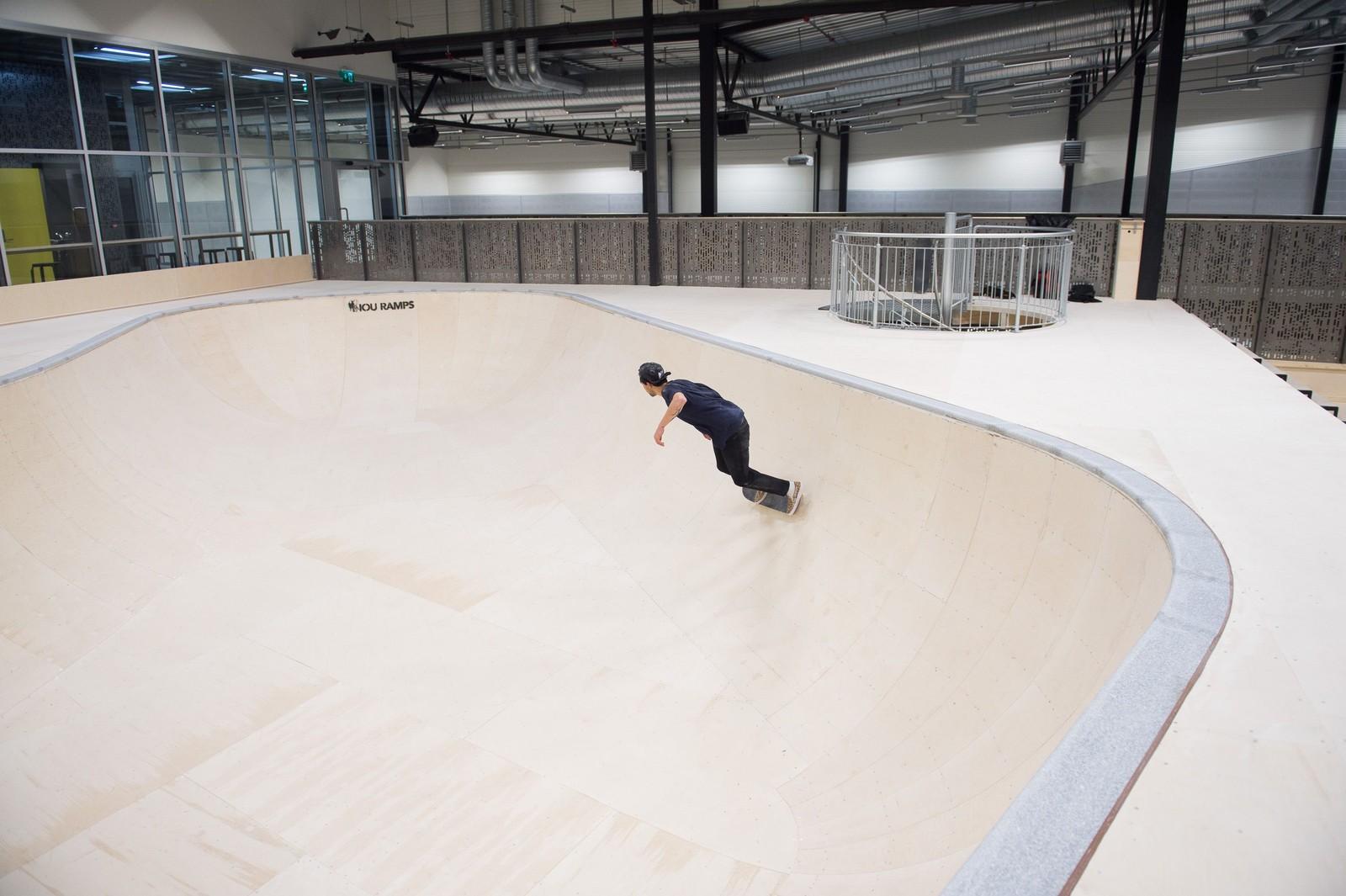 Oslo skatehall er først og fremst en brukshall for nybegynnere og proffe, men skal tilfredsstille internasjonale konkurransekrav og kan arrangere både nasjonale og internasjonale mesterskap.