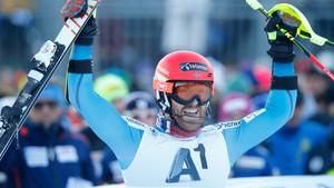 Nå · VM alpint, slalåm 2.omg