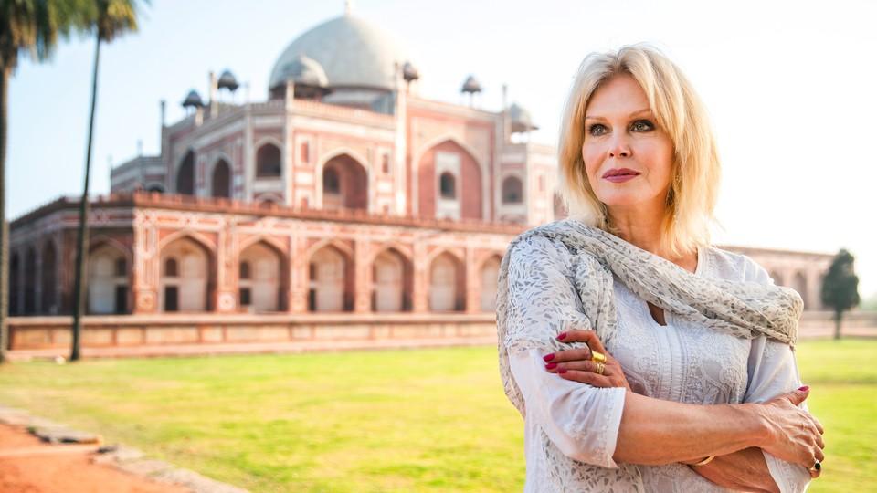 Joanna Lumley i India