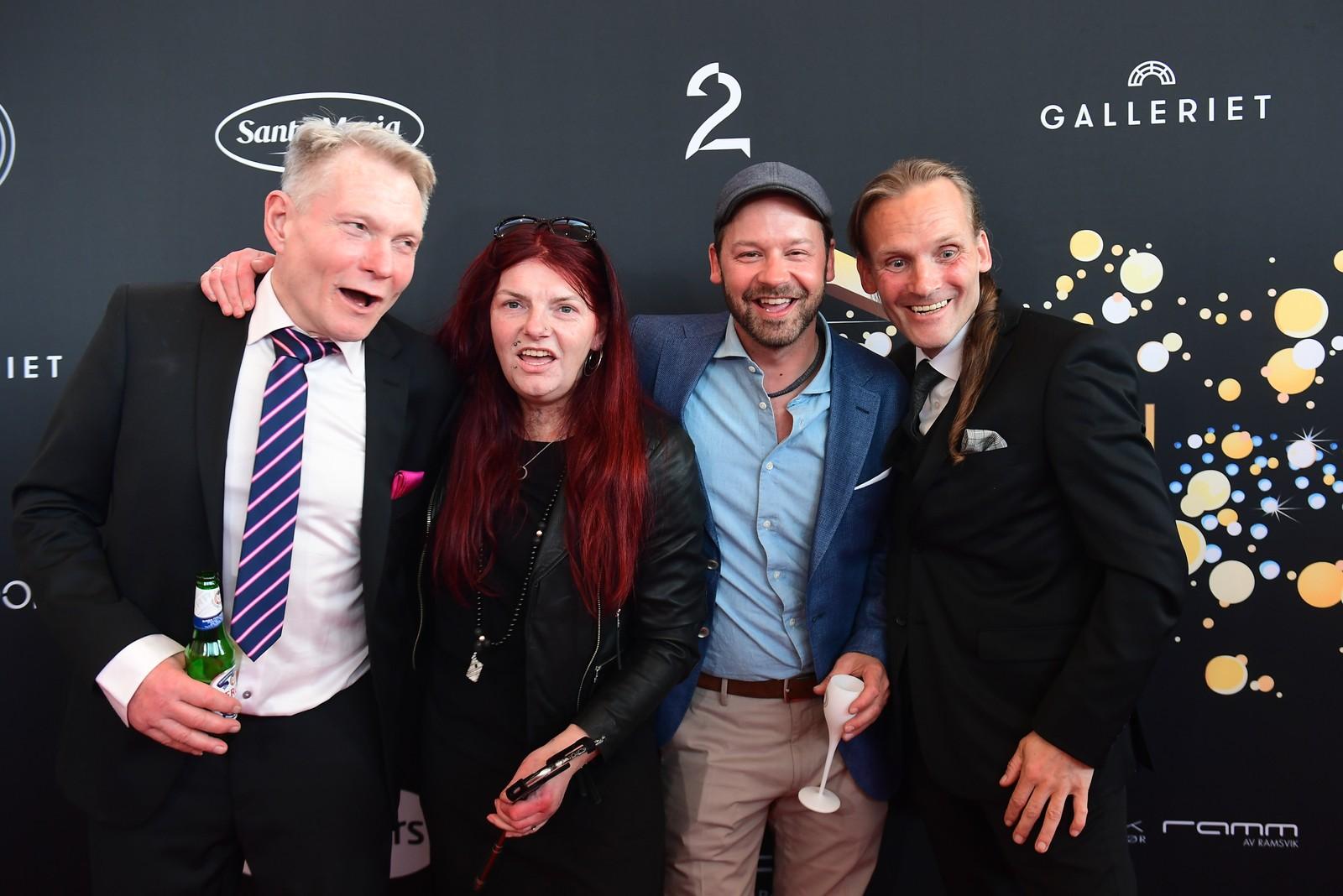Gjengen fra TV 2-serien «Petter Uteligger» gikk fra gata til Nordkapp – det ga dem en Gullrute-nominasjon.