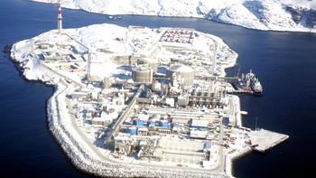 Melkøya er evakuert