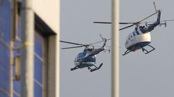 Radovan Karadzic ble trolig fraktet i helikopter da han kom til flyplassen i Rotterdam