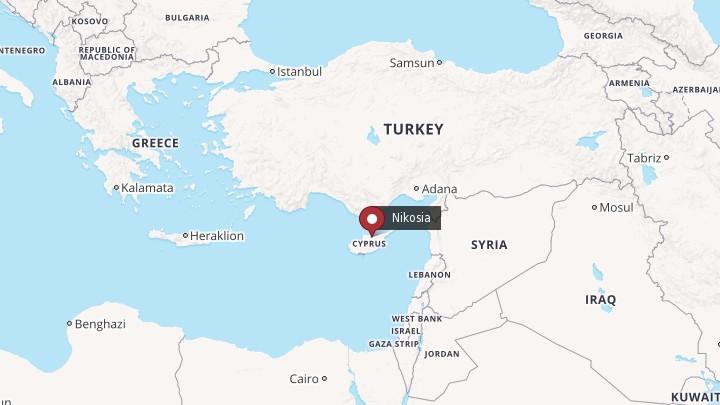 kypros kart Tre nordmenn pågrepet på Kypros – NRK Urix – Utenriksnyheter og  kypros kart