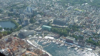 Stavanger flyfoto