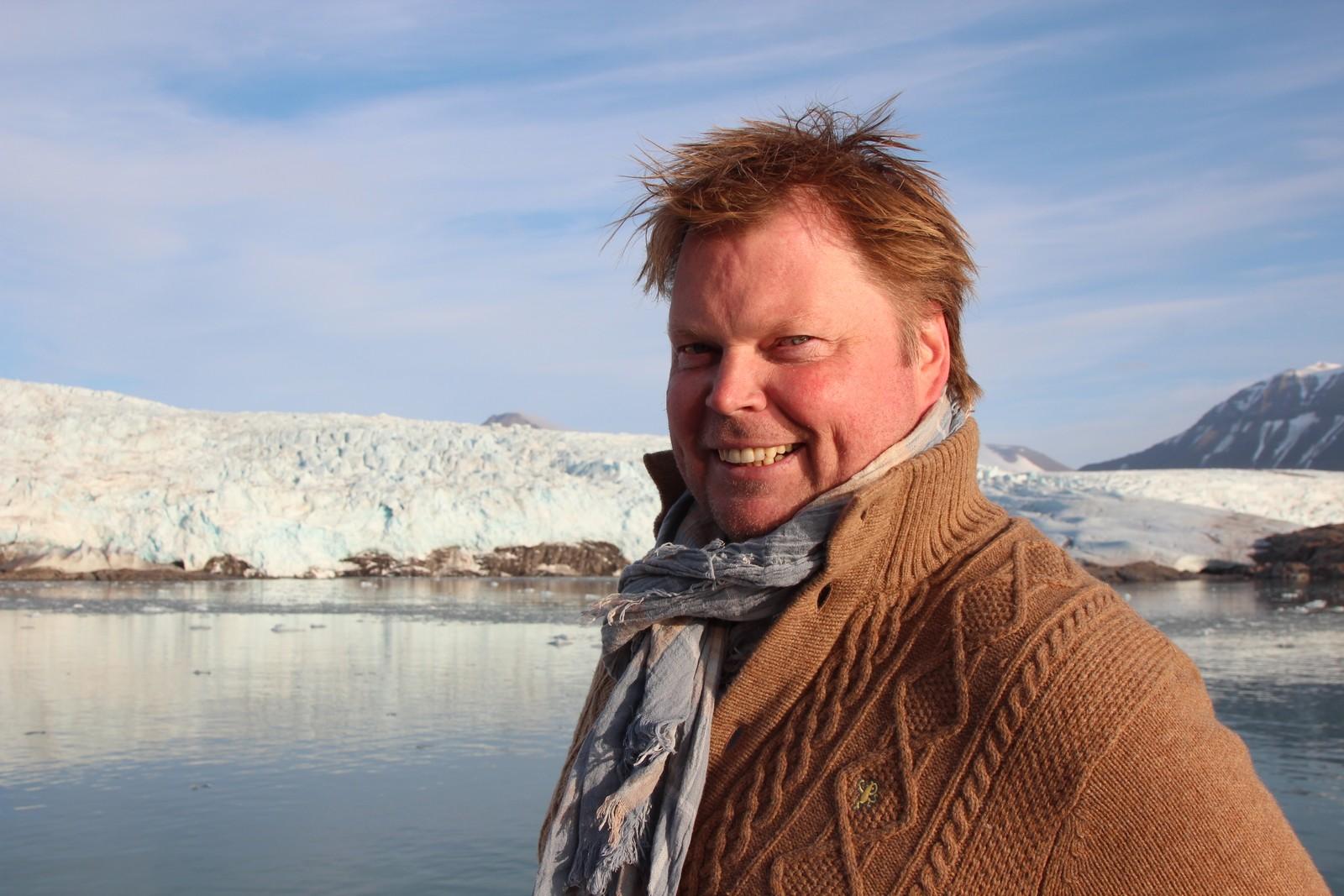 Eks-politimann og krimforfatter Jørn Lier Horst på litteratur-cruise.