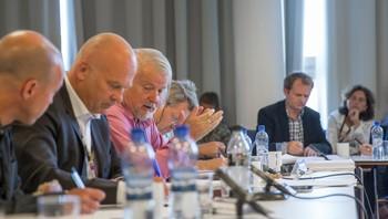 Møte i Kringkastingsrådet i 2014