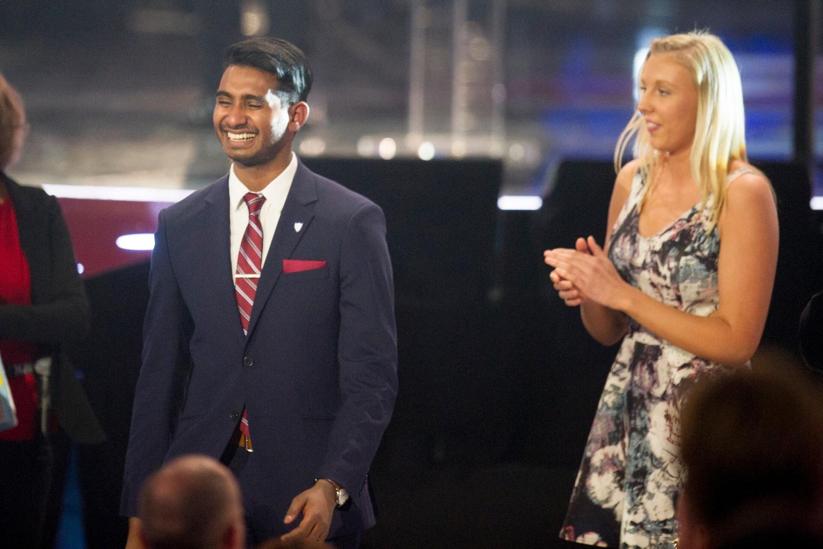 Sajandan Rutthira mottok prisen for «Årets ildsjel».