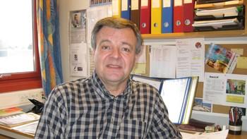 Arne Koch, rektor ved Skogmo videregående skole i Skien
