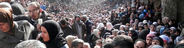 Yarmouk flyktningeleir i Syria - Foto: Uncredited/Ap