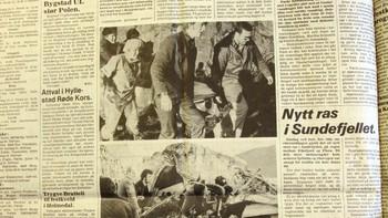 Faksimile frå Firda 19. februar 1982.