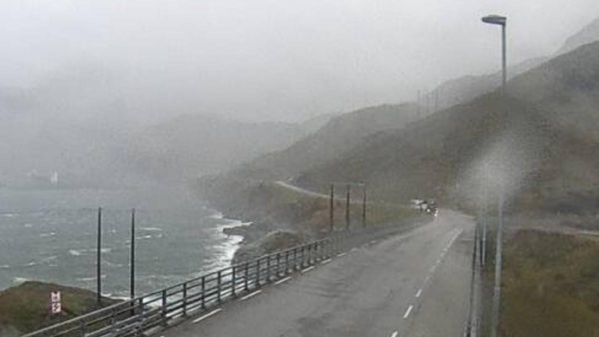 Kåkern bru i Lofoten
