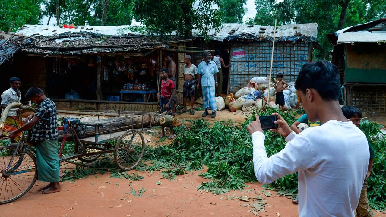 Mohammad Rafiq, rohingya-flyktning i Bangladesh