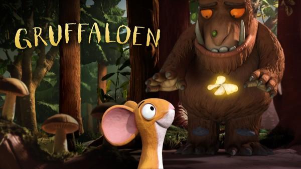 Her møter vi musa som var så lur at han unngikk å bli spist av både reven, ugla, slangen og den store gruffaloen. Britisk animasjonsfilm.