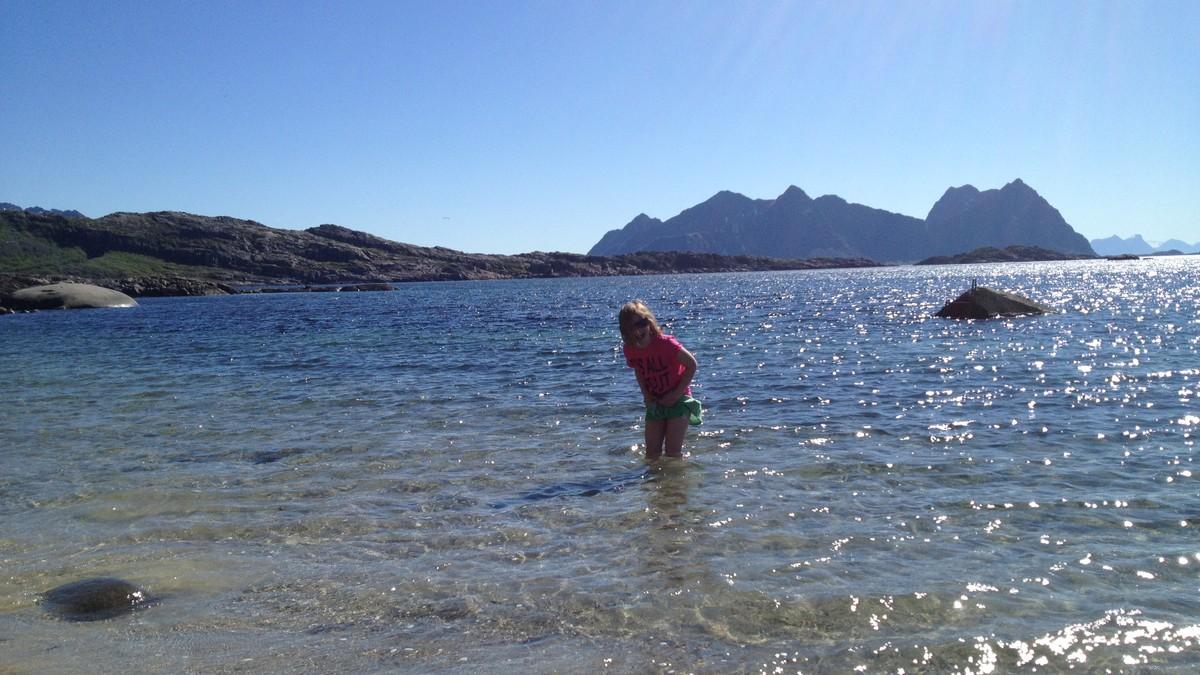 Sommer i Lofoten - Foto: John Inge Johansen/NRK