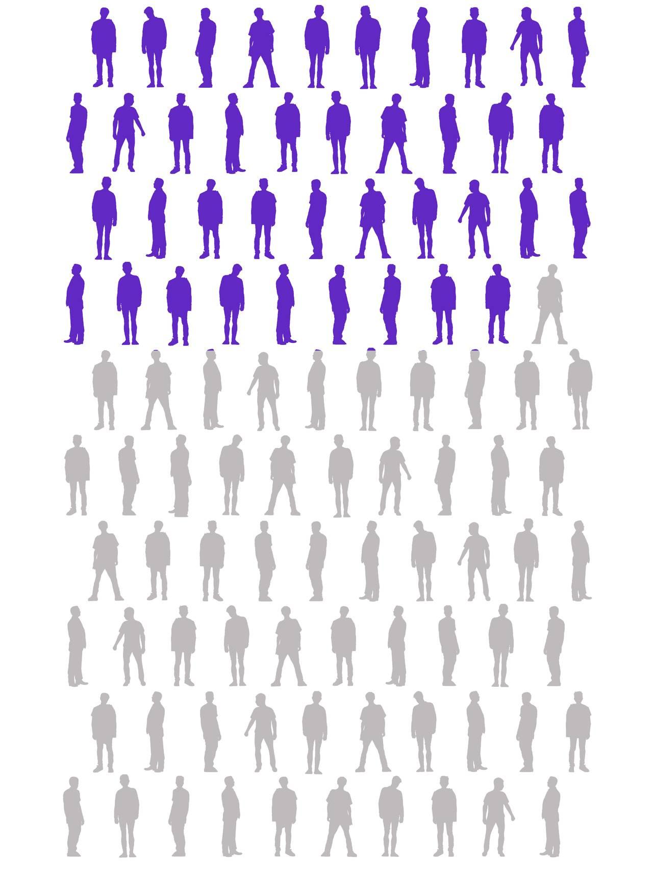 39 silhuetter av menn