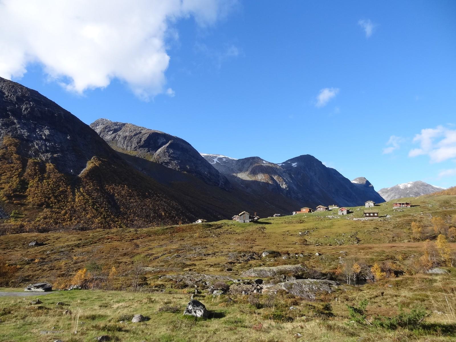 Skjæringsdalen, Strynefjellet