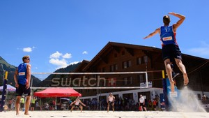 16:10 · NM-veka: Sandvolleyball, finale for menn