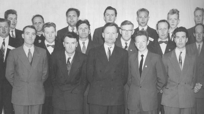 Byrkjelo Mannskor i 1960.