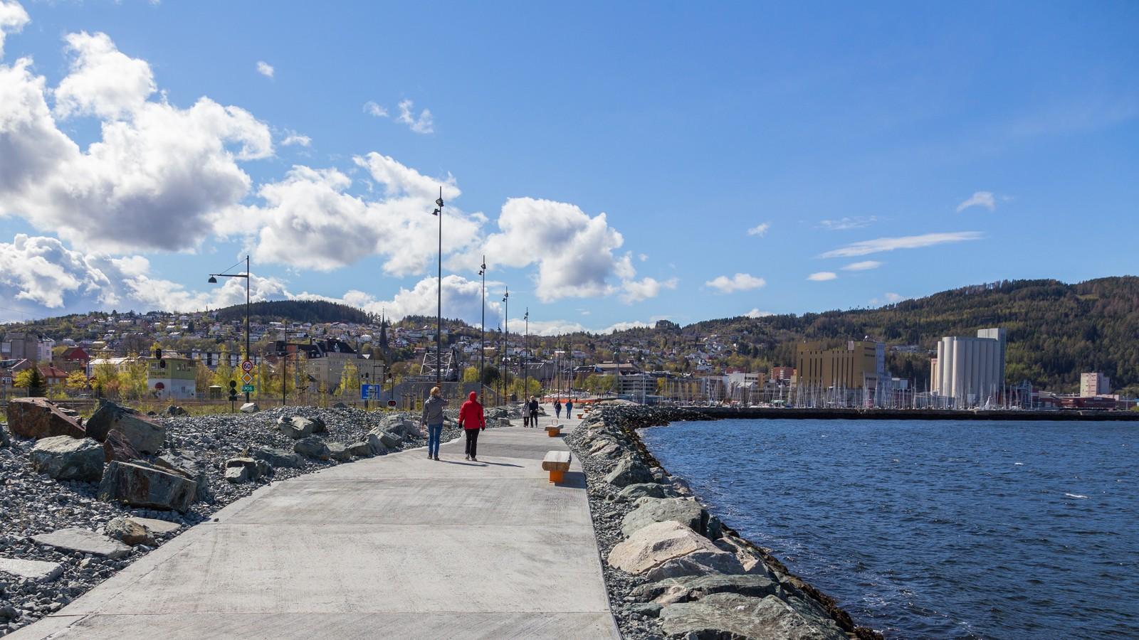 Strandpromenaden i Trondheim