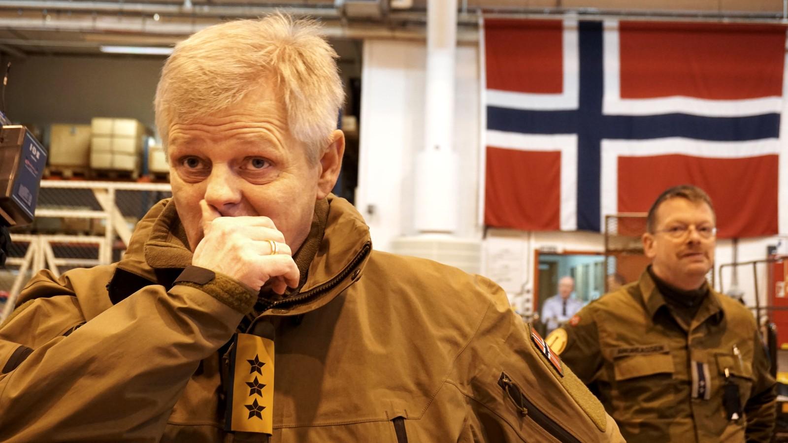 Vel overstått tokt og tilbake hos 333-skvadronen på Andøya.