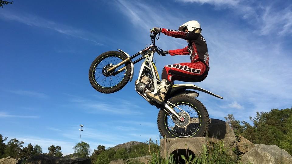 Opptak · NM-veka: X trial, finale for junior og kvinner