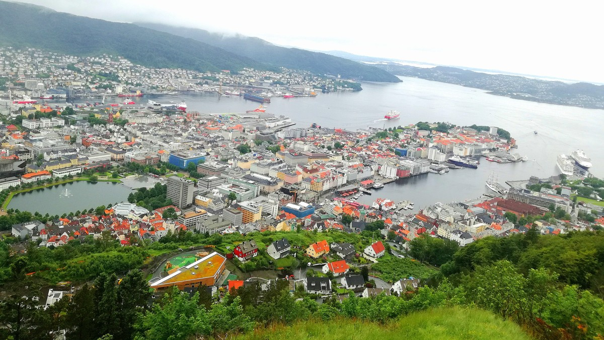 Bergen slår til igjen – ny regnrekord