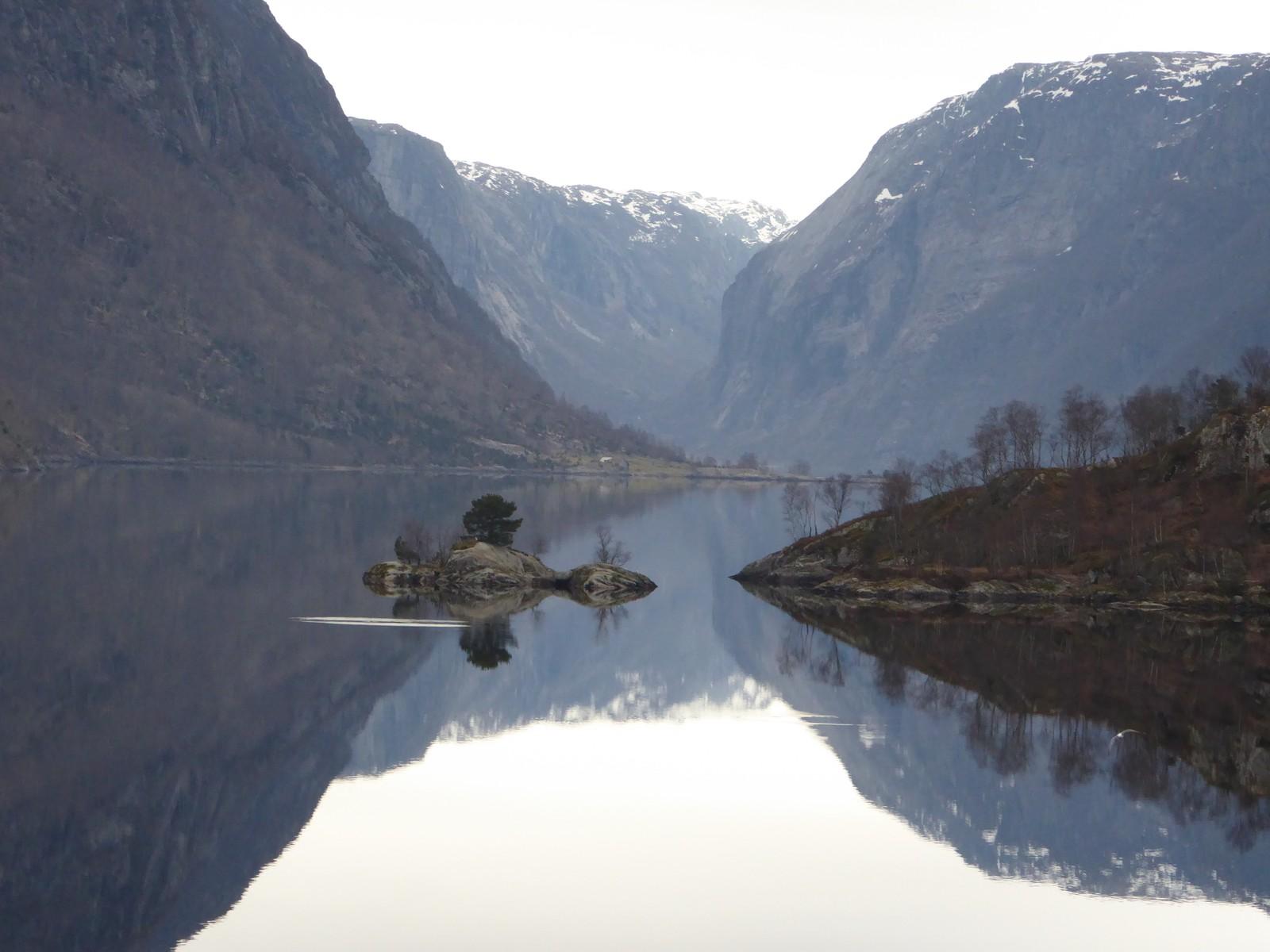 Øvre Tysdalsvatn i Hjelmeland.