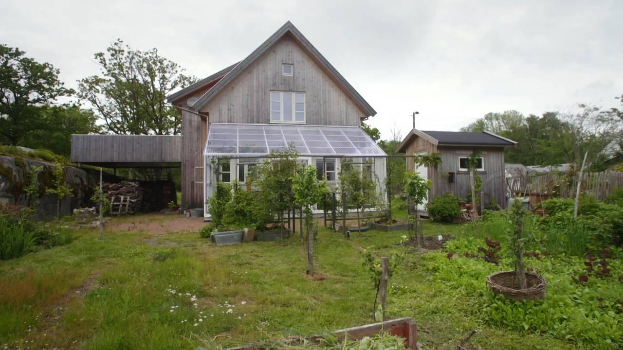 Miljøvennlig hus tegnet av Gaia arkitekter