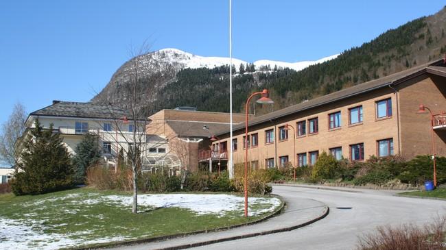 Nordfjord Sjukehus. Foto: Ottar Starheim, NRK.