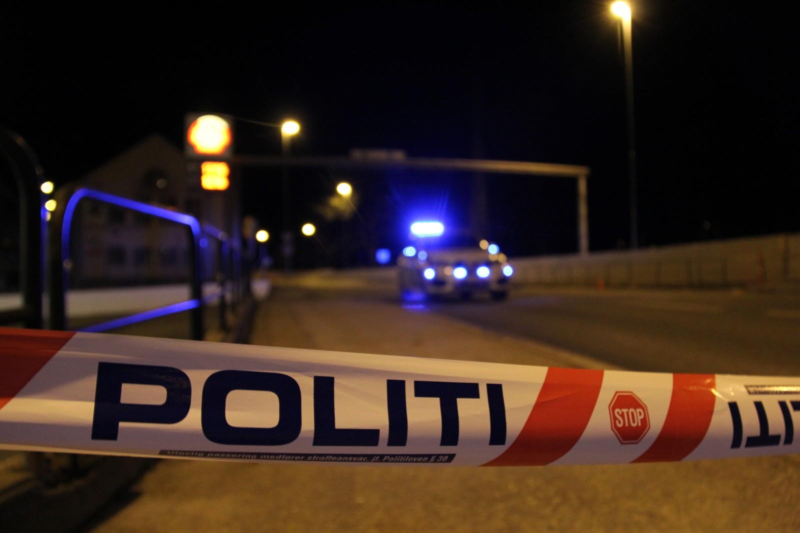 Politisperring etter skyting Kristiansand.