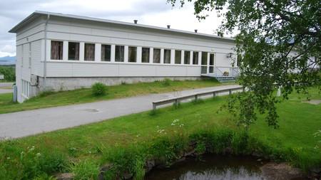 RÅDHUSET i Hamarøy. Foto: Billy Jacobsen / NRK 2009