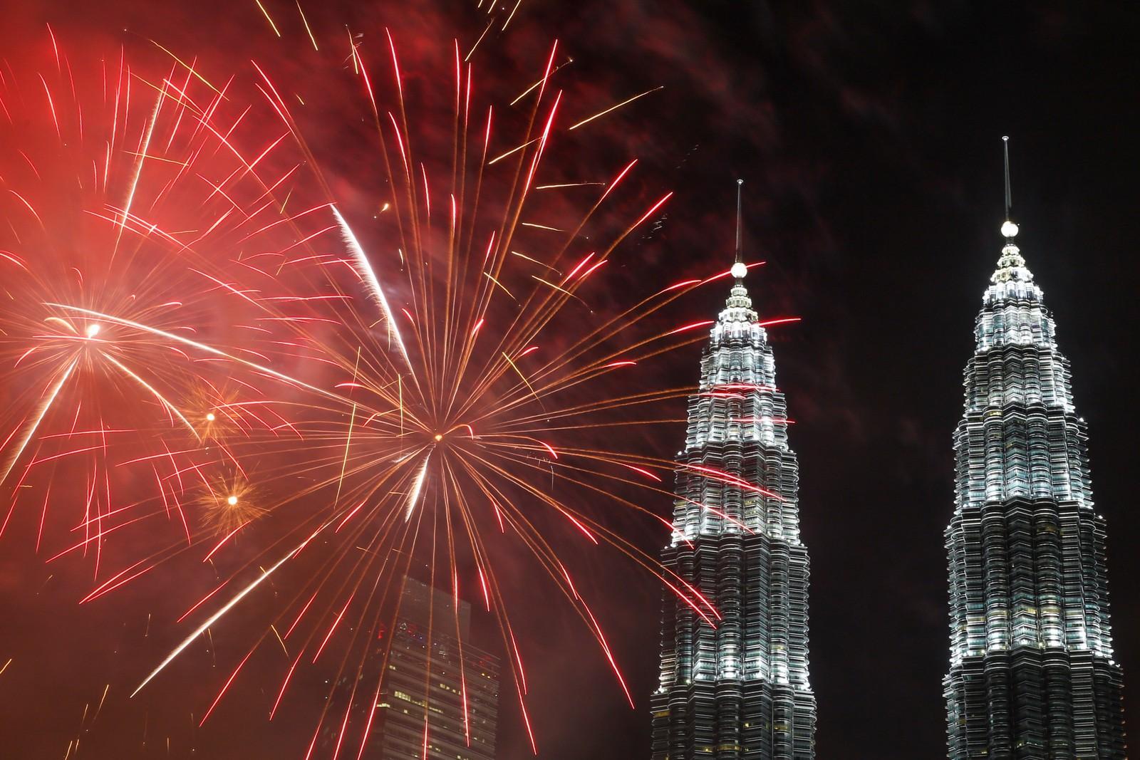 Kuala Lumpur i Malaysia.