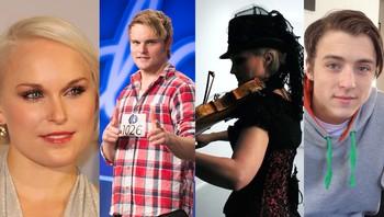 Eva Weel Skram, Ola Weel Skram, Sigrid Moldestad og Georg Lipai