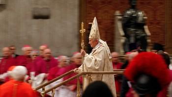 Pave Bendedikt XVI midnattsmesse 24. desember 2011