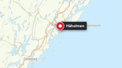 Håholmen utenfor Arendal