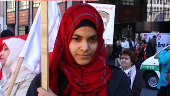 Zeineb Alsabeegh på Youngstorget