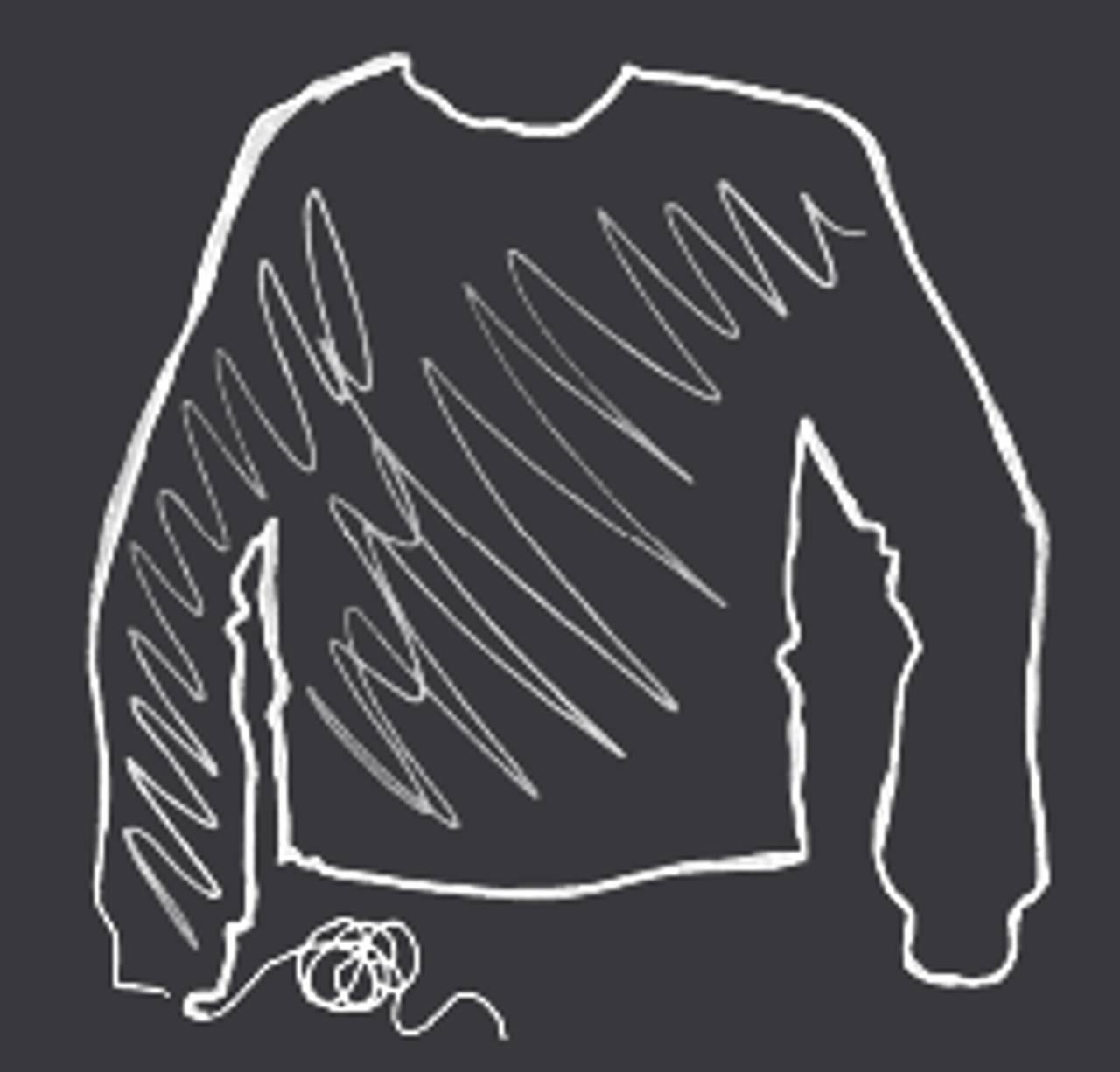 Illustrasjon av en genser