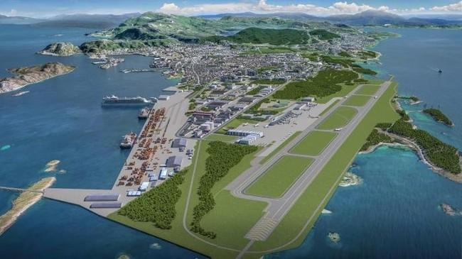 Idag er møtet mellom Avinor, Bodø kommune og Forsvarsbygg, og presentasjonen av planene for prosjektet «Ny by, ny flyplass».