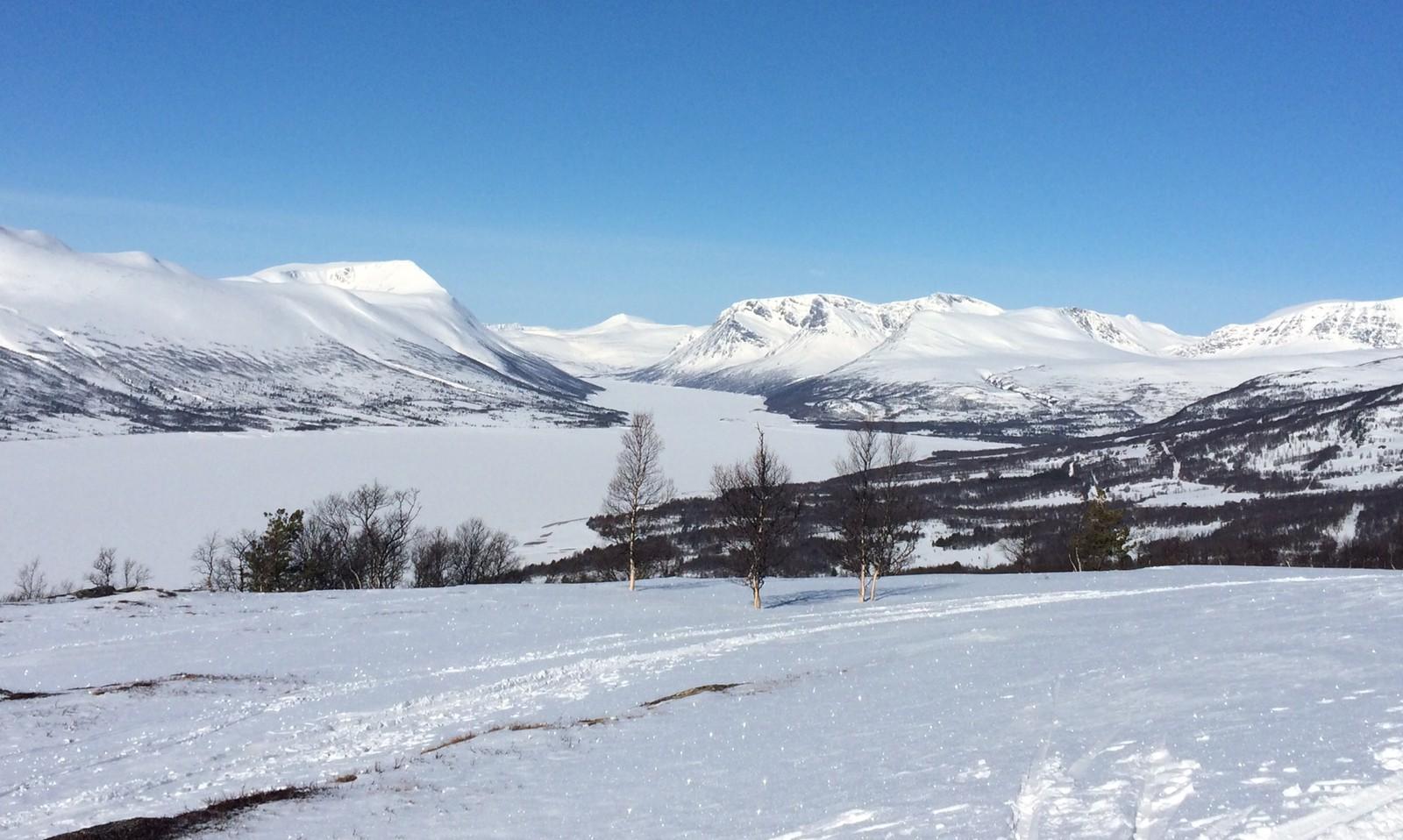 Gjevillvassdalen, 31.3.2015