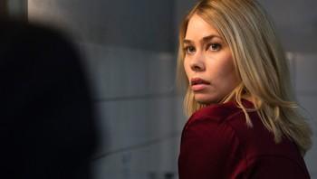 Birgitte Hjort Sørensen i rollen som Katrine Fønsmark i Borgen