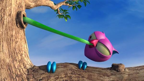 I en skog full av småfrekke hakkespetter, skrytende og sadistiske ildfluer er det ikke lett for en liten, rosa ugle å holde det gående! Det er ikke noe å le av, for det er ganske slemt! Fransk animasjonsserie.