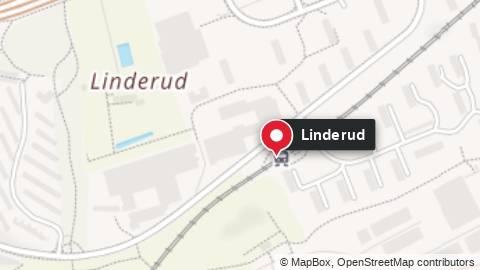 En person er skadet, trolig med stikkvåpen på Linderud i Oslo.