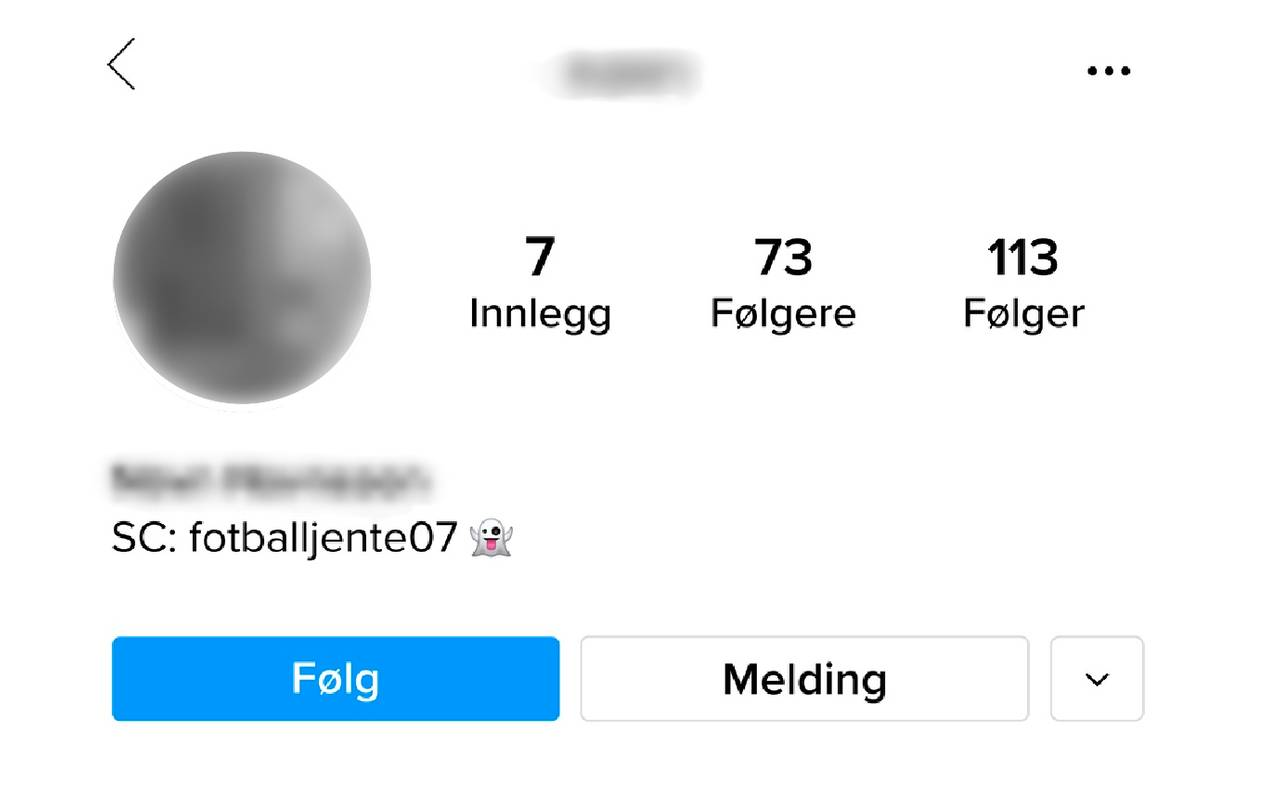 Instagramkonto