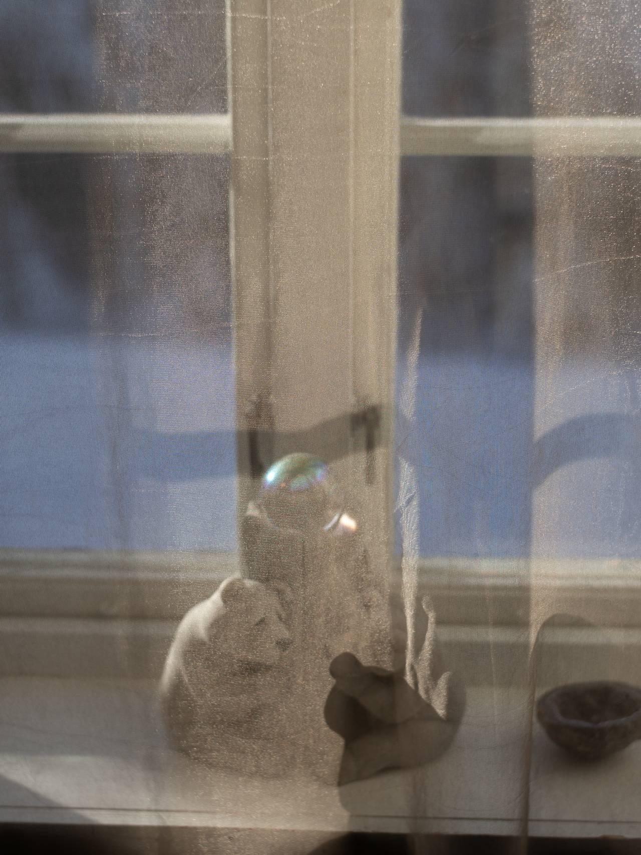 Debora Atwood flykter fra stråling.