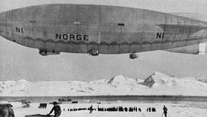 Med luftskip over Nordpolen