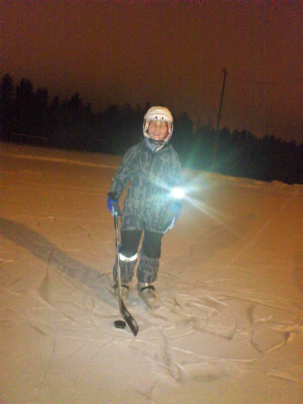 Joakim Visnes, hockey