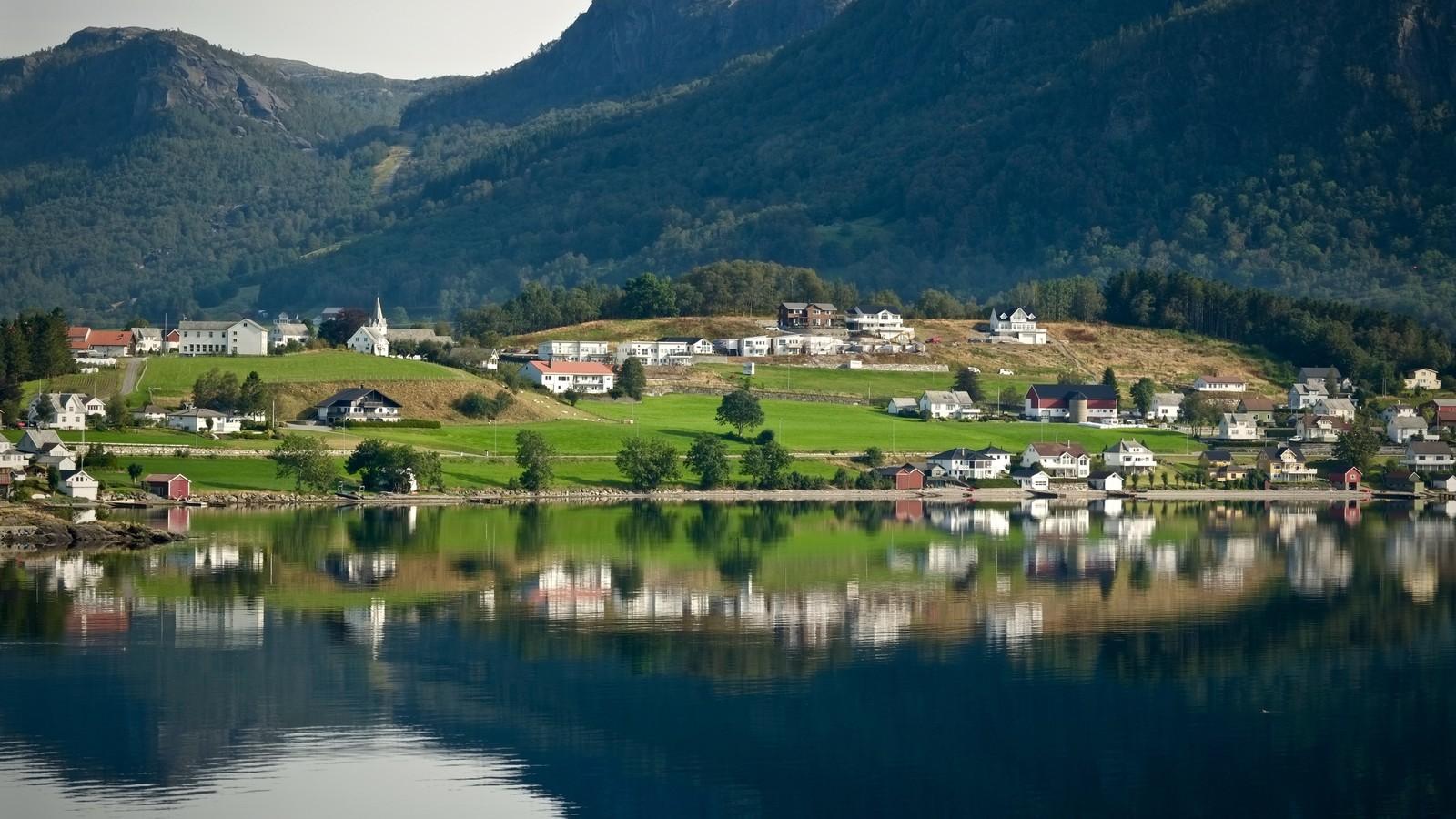 Sandeid i Vindafjord.