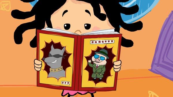 Norsk animasjonsserie. Detektiv Elfrid.Lille Elfrid er fem år og en gledesspreder. Når hun endelig får lov til å utforske verden på egenhånd blir vi med på en oppdagelsesferd som er både skummel og fantastisk.